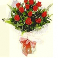 12 Red bouquet