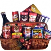 CHRISTMAS HAMPERS BASKET