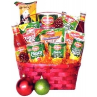 Basket Filled with Grocery Items#10