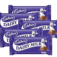 Buy 5 PCs Cadbury Dairy Milk Chocola