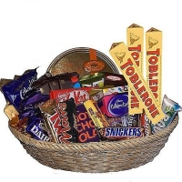 Chocoholic's Basket of Favorite