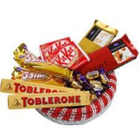 Chocolate Assortment basket.