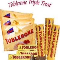 Toblerone tripple treat