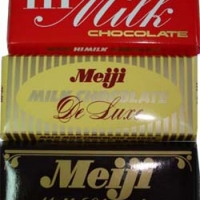 Meiji Milk set.