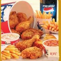 KFC Bucket big (21 pcs )