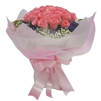 Special Pink Rose Bouquet