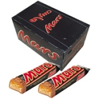 Mars Chocolate Bars